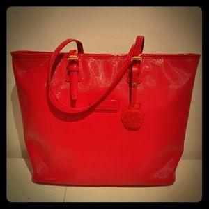 Longchamp bag,  big apple NYC edition